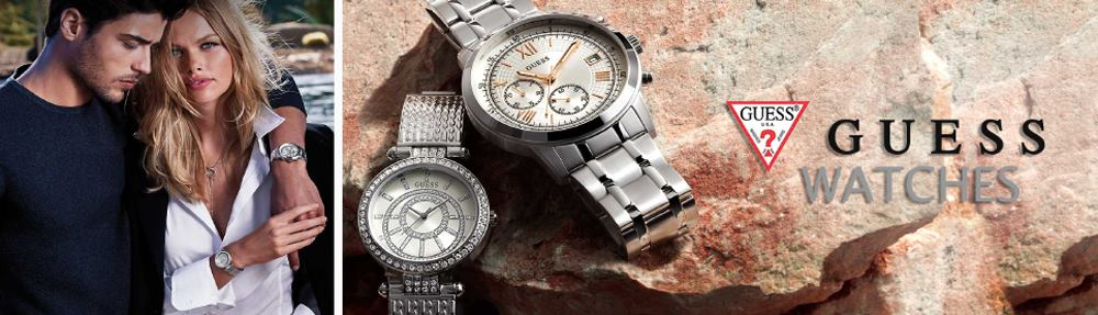 Guess Watches Plata Y Oro